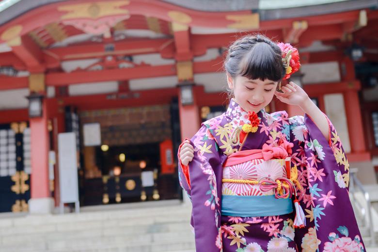 世田谷八幡宮 撮影