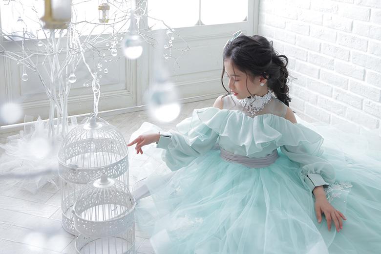 7歳ドレス