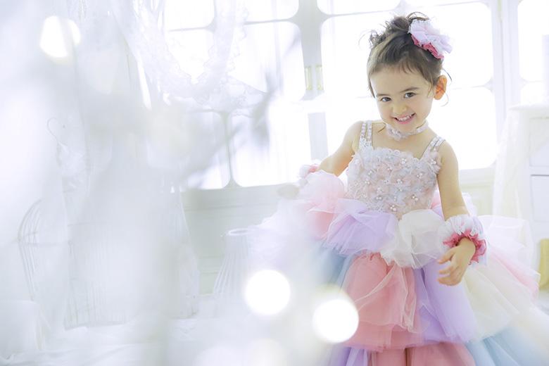 3歳七五三ドレス
