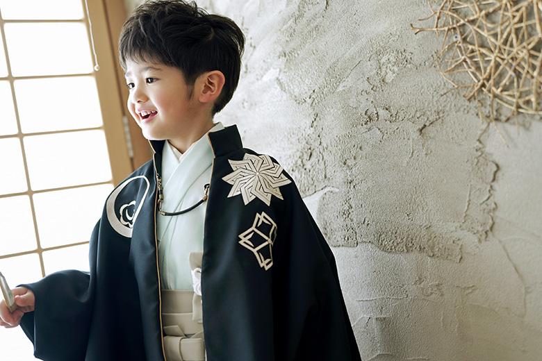 5歳男の子着物